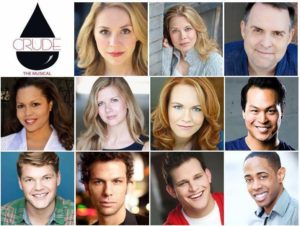 Cast of CRUDE The Musical